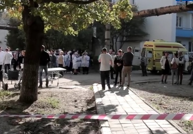 В Керчи идет опознание погибших при взрыве в колледже