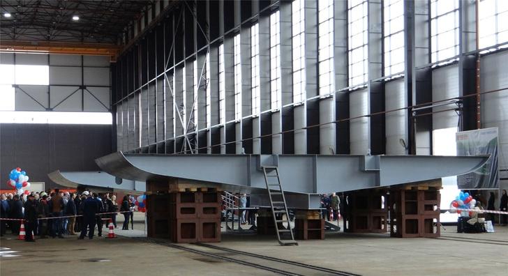 Строительство траулера проекта 03095 на ЛСЗ «Пелла»