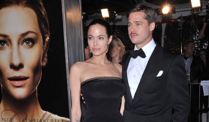 Джоли устроила Питту тайное свидание
