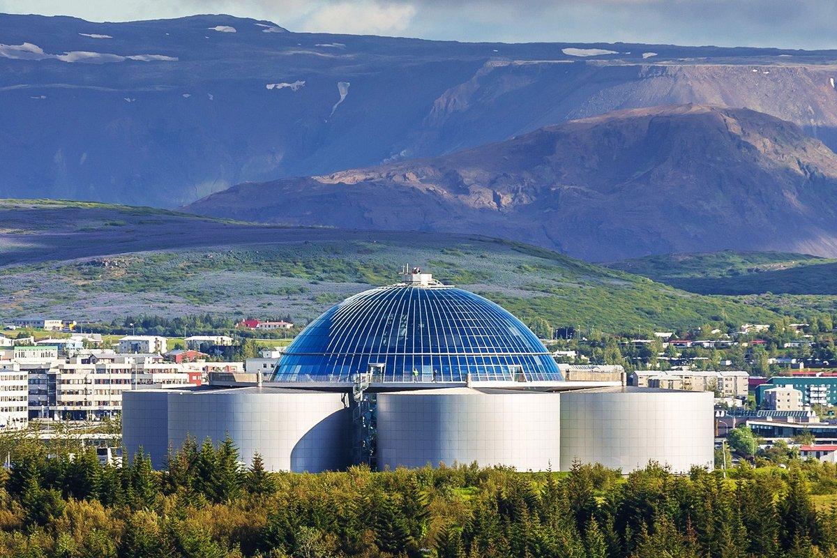 МИР ВОКРУГ. Достопримечательности Исландии. Культурный центр «Перлан»