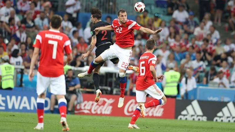 Путин оценил игру российских футболистов