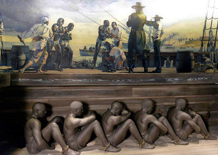 Как перевозили рабов