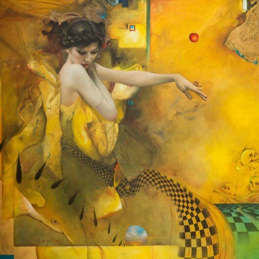 «Странности» в живописи Кима Хереу.