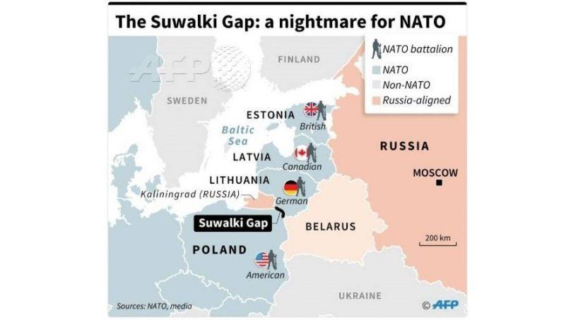 «Сувалкский коридор – кошмар для НАТО». Или Калининграда?