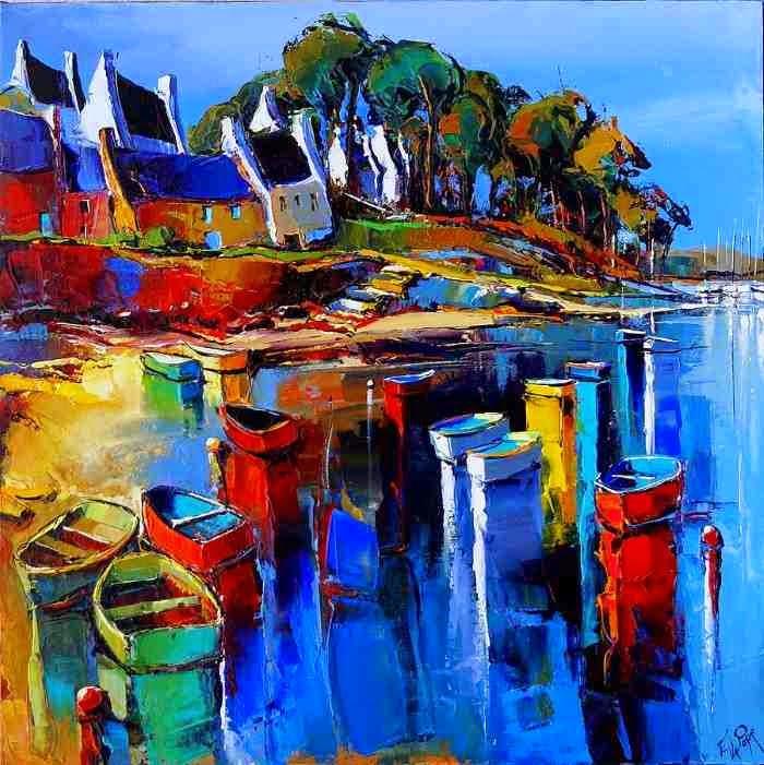 Небо и море. Французский художник Эрик Ле Пап