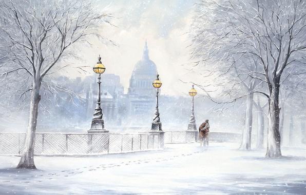 НАСТРОЙ ДНЯ. Зима и твои поцелуи