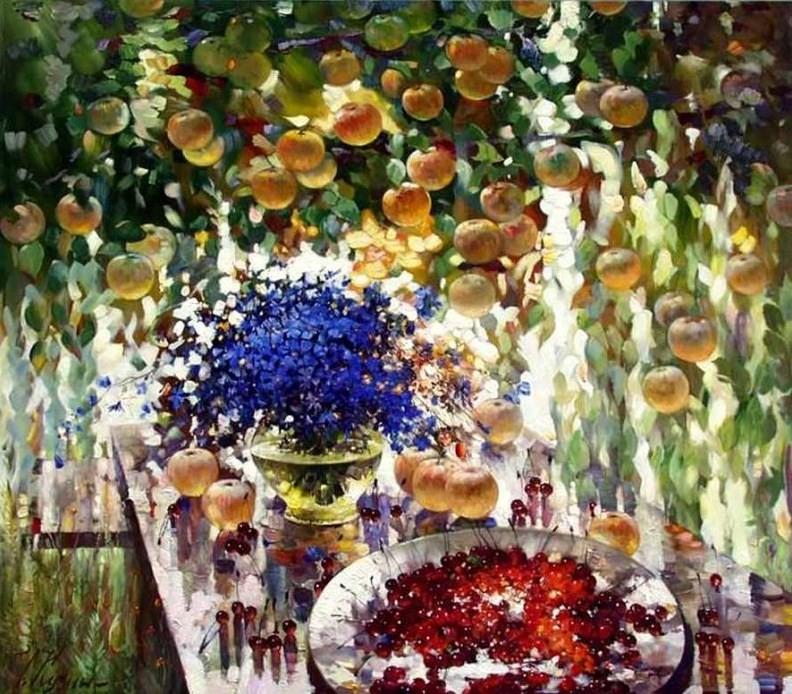 Чтоб в сердце поселилось лето —  полные света тепла картины Сергея Кузина