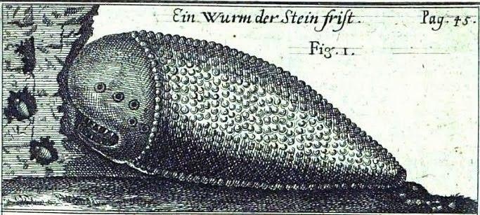 Шамир - червь поедающий камни