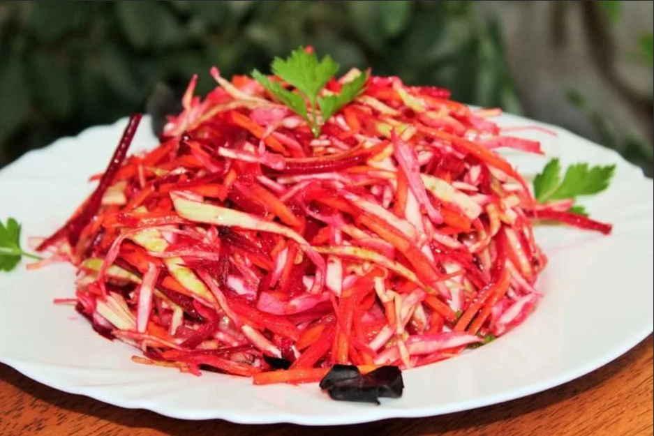 Очищающий салат «Щётка» для очищения кишечника - избавление от шлаков, токсинов, лишнего веса и плохого самочувствия!