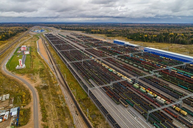 Самая крутая железнодорожная станция России