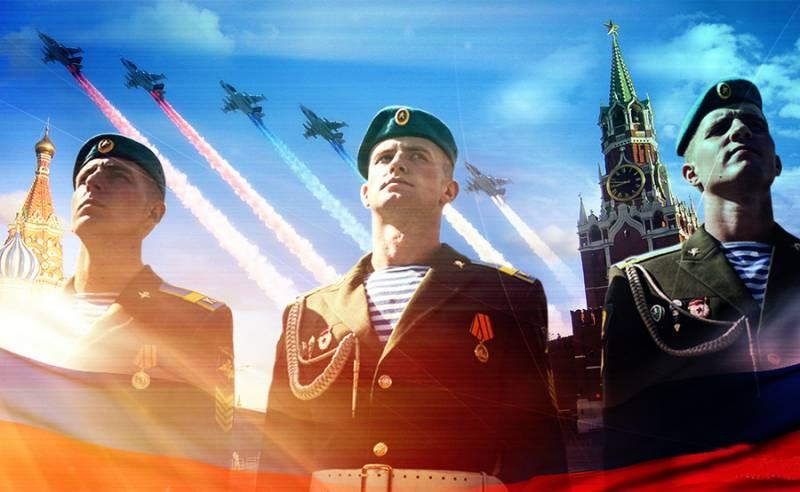 Всю мощь и красоту армии России показали в одном видео