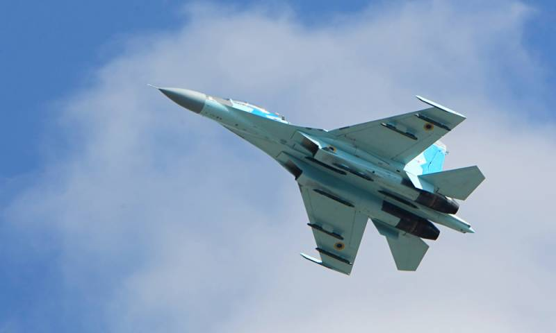 Катастрофа Су-27 на Украине: самолет угробил американский пилот