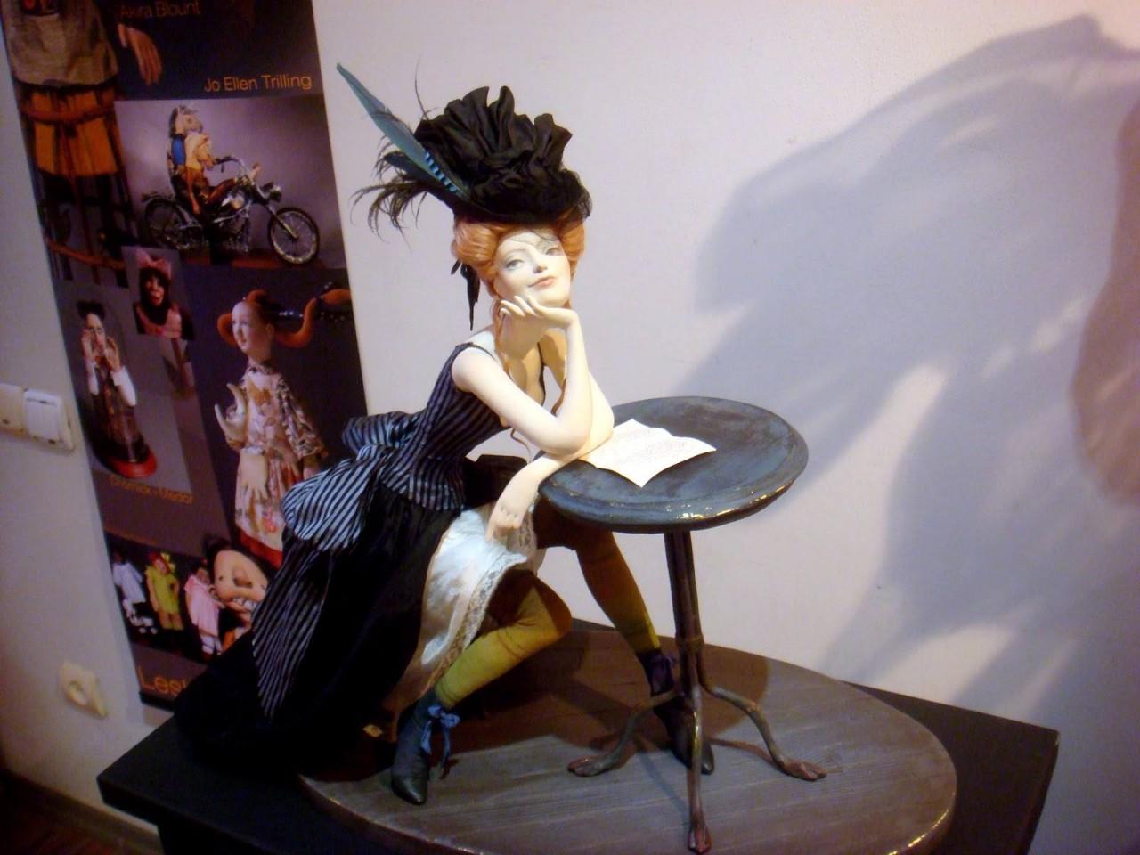 Авторские куколки из полимерной глины для вдохновения 2