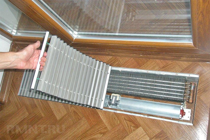 Напольный радиатор своими руками