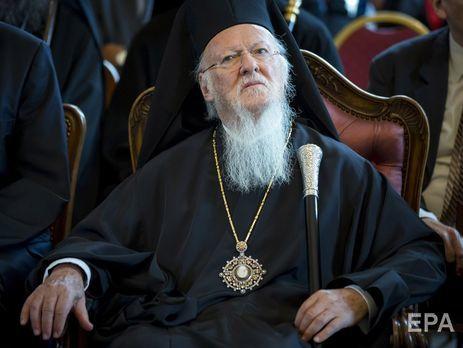 Синод РПЦ официально порвал связи с Варфоломеем