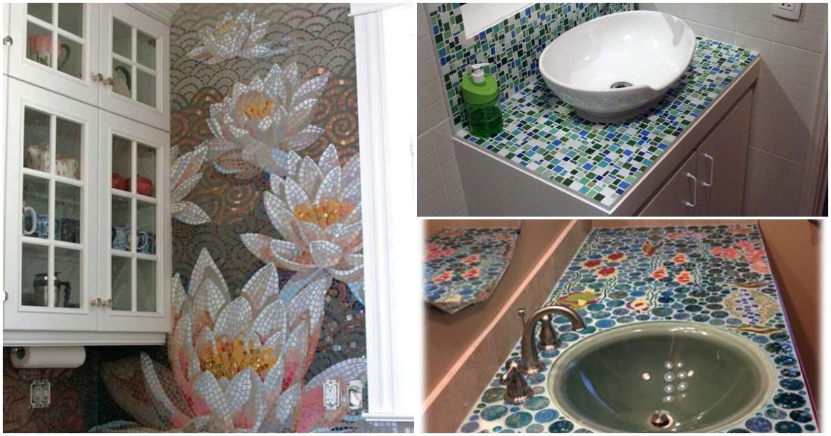 Мозаика в дизайне: всегда эффектно и востребовано