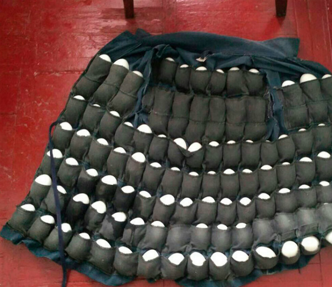 Украинец сшил куртку для кражи 100 яиц