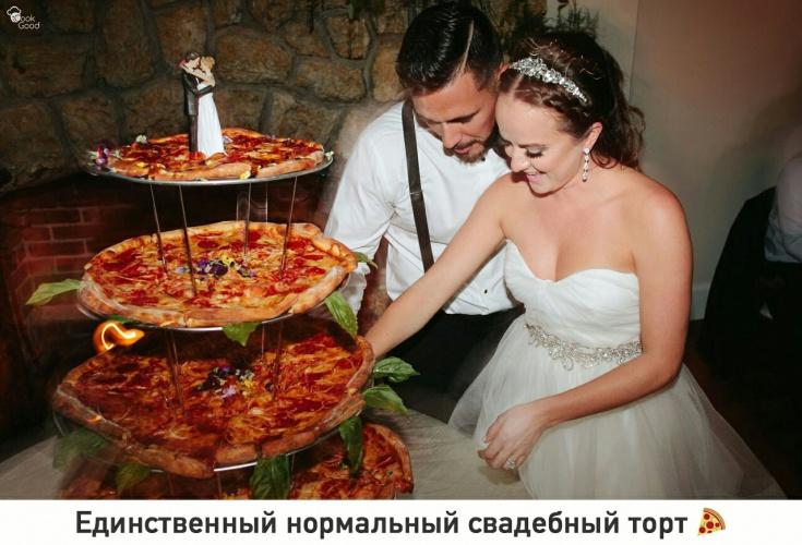 Замена свадебного торта