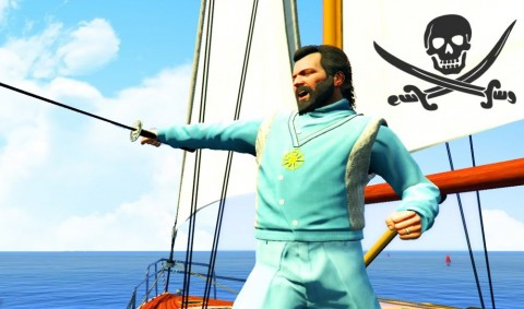 Grand Theft Auto V Finally Pirated