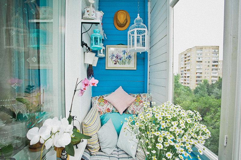 Как обустроить балкон фото