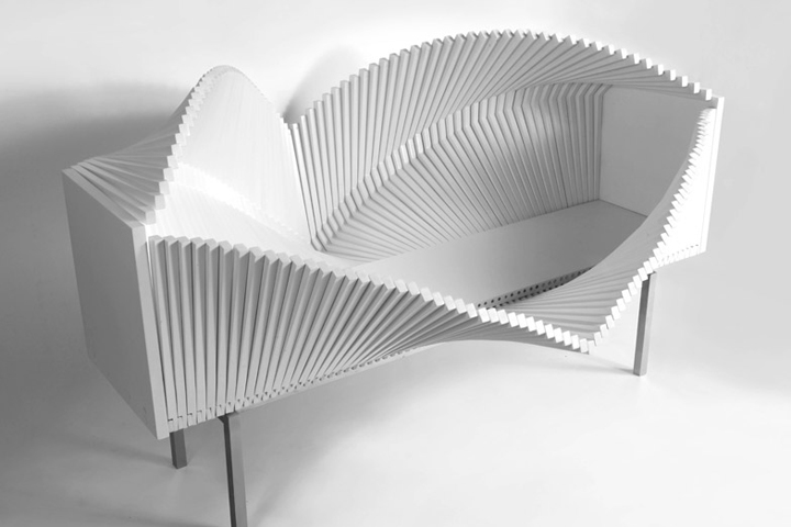 Шкаф Wave Cabinet от Sebastian Errazuriz