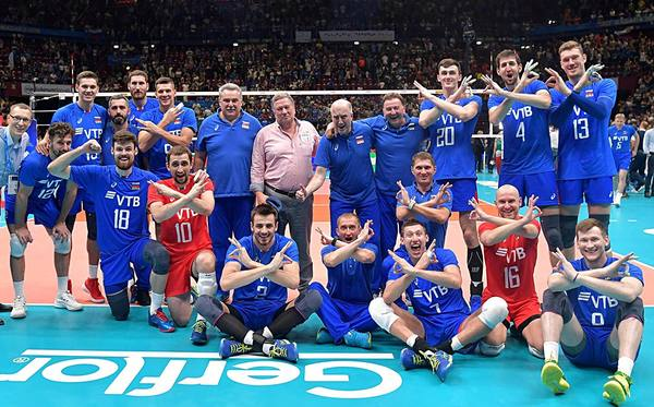 Россия собралась исделала больно Италии. Вылет сЧМповолейболу откладывается