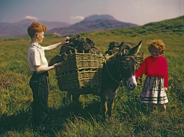 Ирландские сюжеты из коллекции открыток Джона Хайнда
