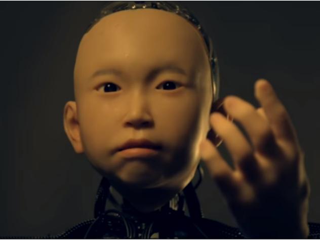 Хироси Исигуро создал робота с лицом десятилетнего ребёнка