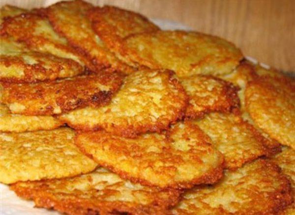 Драники из черствого хлеба