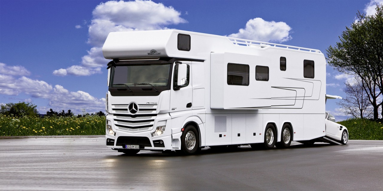 Mercedes VARIO Alkoven 1200: самый роскошный дом на колесах
