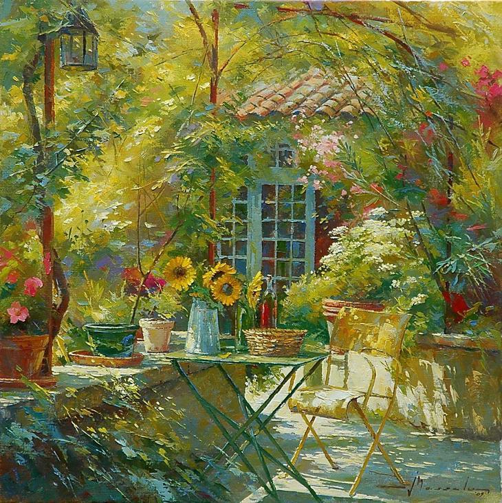 Солнечное настроение в творчестве Йохана Мессели (Johan Messely)