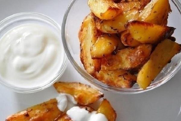 Картофель в соевом соусе на гарнир