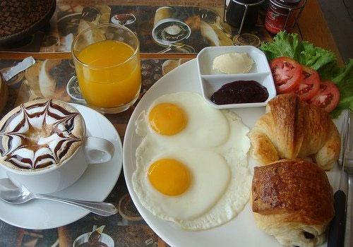 Завтраки разных стран мира.