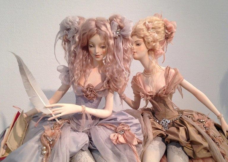 Авторские куколки из полимерной глины для вдохновения 4