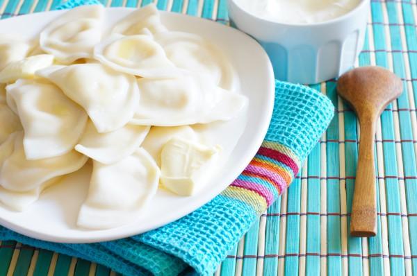 Рецепты по четвергам. Сладкие вареники. Вареники с творогом (1)