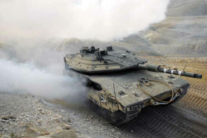 Барака: новый секретный танк Израиля