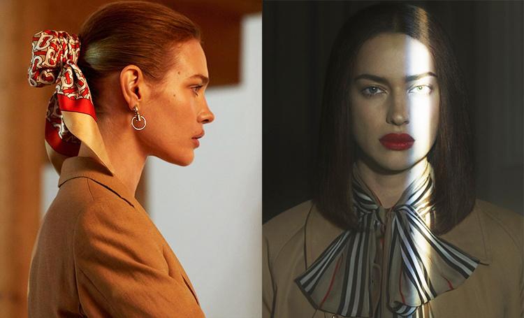 Все оттенки бежевого: Ирина Шейк, Наталья Водянова и другие модели в новой рекламе Burberry