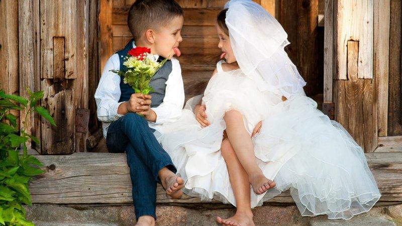 Что такое свадьба с точки зрения детей? дети, отношения, юмор