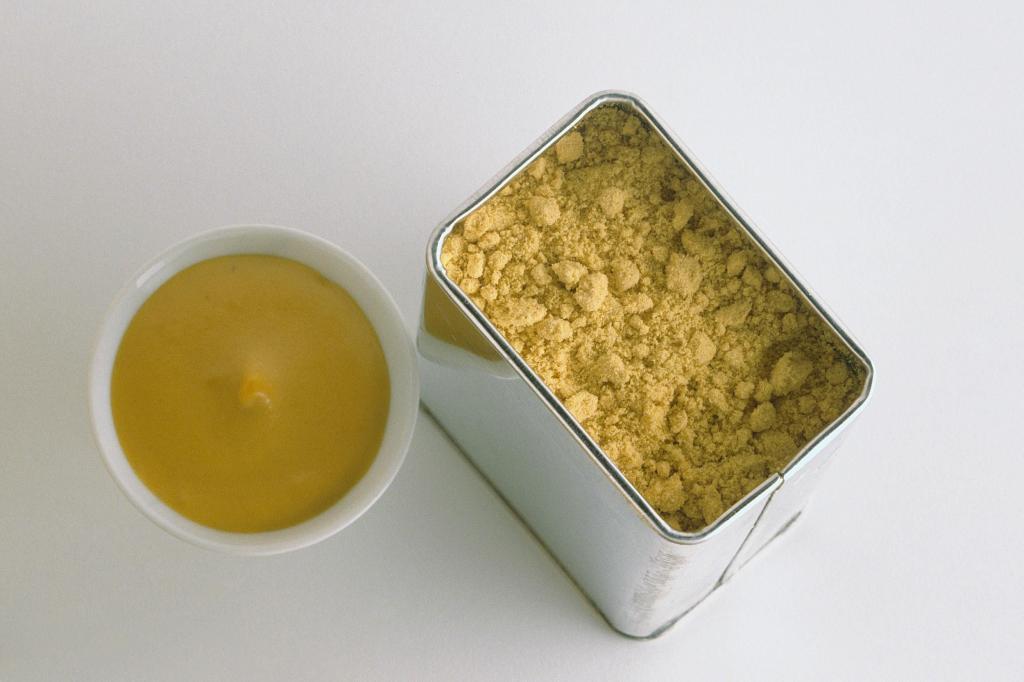 Как сделать горчицу из порошка: ингредиенты и рецепт приготовления