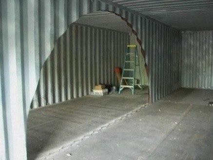 Дом из двух контейнеров