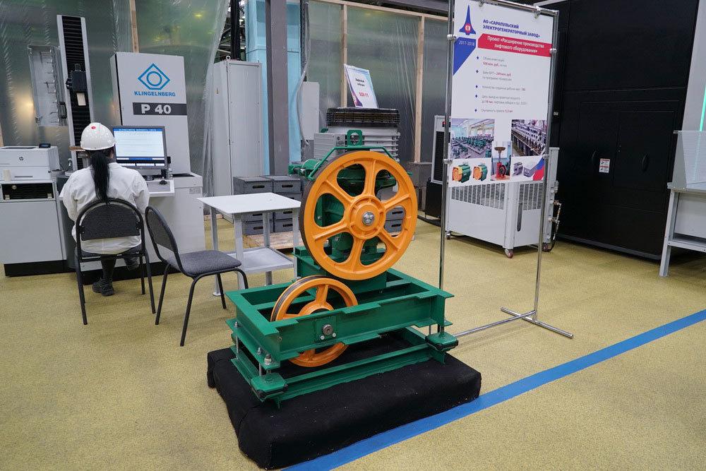 СЭГЗ локализовал первое отечественное производство лебедок для лифтов