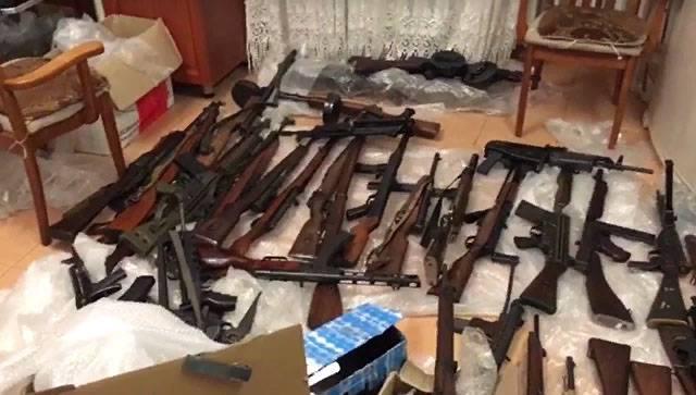 Спецслужбы перекрыли канал контрабанды оружия из ЕС. В арсенале даже миномёты и ПТР
