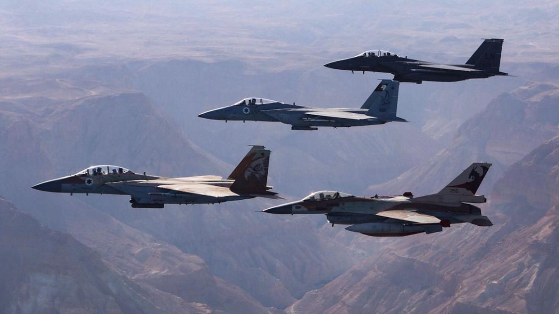 Израиль собирает воздушный кулак в небе Ливана