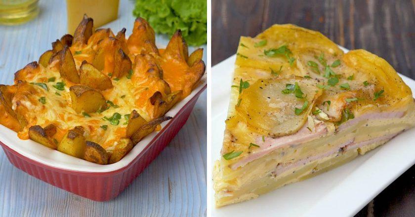 Как приготовить сырный картофель