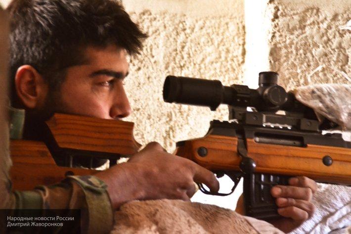 Неизвестные снайперы устроили результативный отстрел главарей боевиков в Идлибе