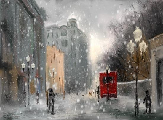 Юрий Визбор. А зима... Publ.PR