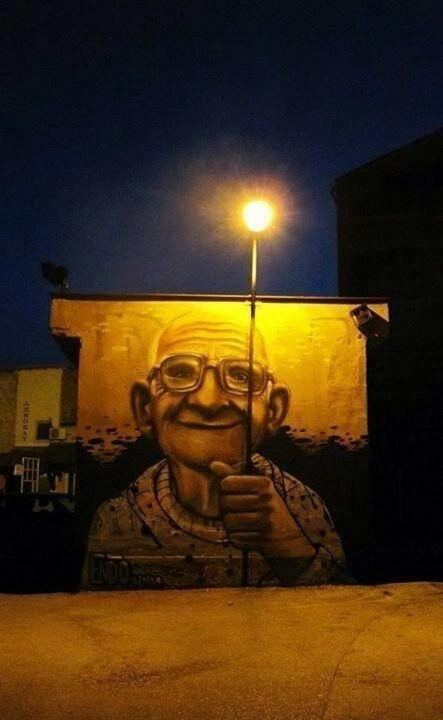 Графитти со светом