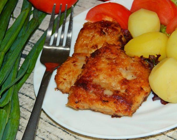 Закуска из рыбы в соевом соусе