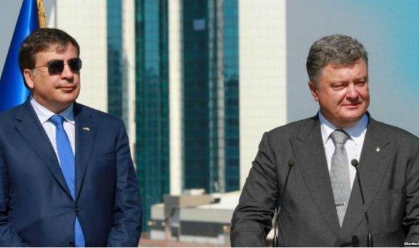 Гриценко раскрыл неожиданные подробности содержания письма которое Саакашвили написал Порошенко