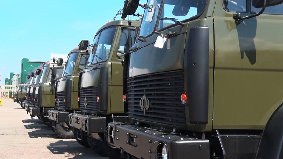 Белорусские грузовики очень помогли ВСУ